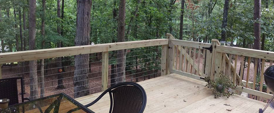 deck rail installation jasper ga
